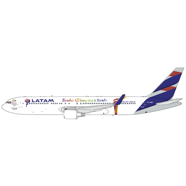 JC Wings B767-300ER LATAM Rio Olympics 2016 PT-MSY 1:400 +Preorder+