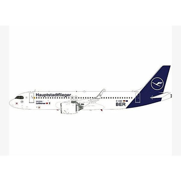 JC Wings A320neo Lufthansa Hauptstadtflieger 2018 Livery D-AINZ 1:400 +preorder+