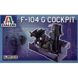 Italeri F104G Cockpit 1:12 2020 re-issue, Ex-ESCI [Used]