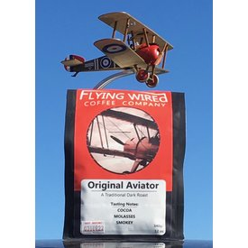 Flying Wired Coffee Company Coffee Beans Original Aviator Dark Roast