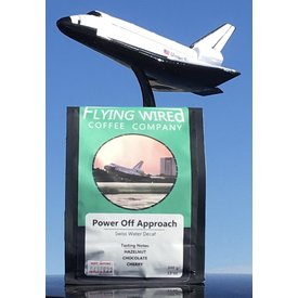 Flying Wired Coffee Company Coffee Beans Power Off Approach Decaffeinated