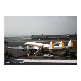 Herpa L1049G Constellation Iberia EC-AIO Nina 1:200 with stand +preorder+
