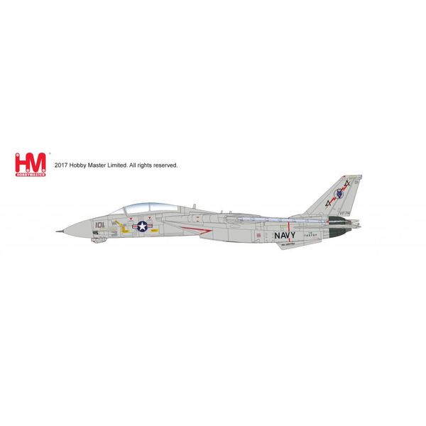 Hobby Master HOBBYM F14A TOMCAT VF74 BEDEVILLERS 1987 1:72