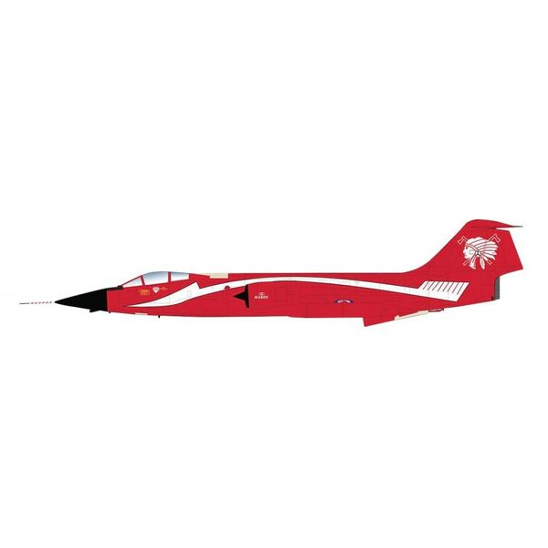 Hobby Master CF104 Starfighter 421 Red Indian Squadron RCAF Toothbrush livery 104805 1:72