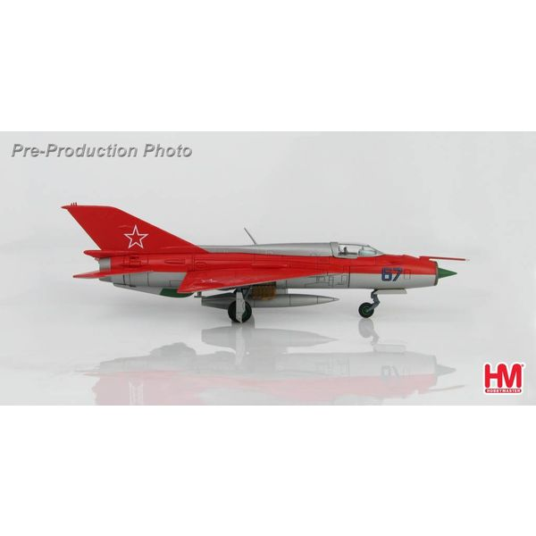 Hobby Master MIG21PFM Soviet Aerobatic Team BLUE 67 Kubinka 1967  1:72