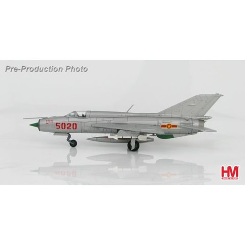 MIG21PFM RED 5020 927 Lam Son Fr VPAF 1:72 with stand