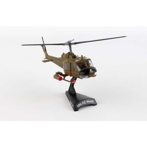 UH1 Huey Gunship US Army 1st Air Cavalry Division 1:87 with stand