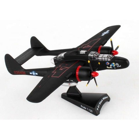 P61 Black Widow USAF Lady in the Dark 1:120 with stand
