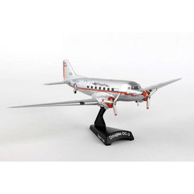 Postage Stamp Models DC3 American Airlines Flagship Tulsa 1:144 with stand