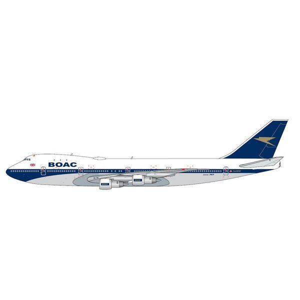 Gemini Jets B747-100 BOAC Blue/Gold G-AWNF 1:200 Polished