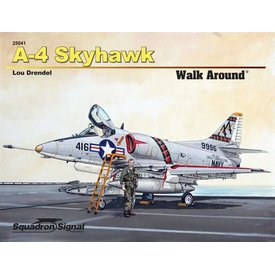 Squadron A4 Skyhawk:Walk Around #41 Sc