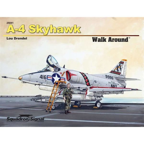 Squadron A4 Skyhawk: Walk Around #41 Softcover