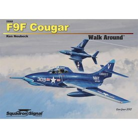Squadron F9f Cougar:Walk Around #68 Sc