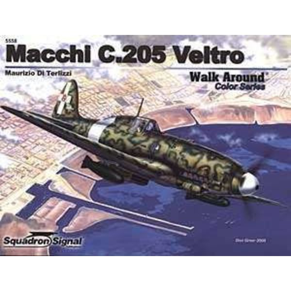 Squadron Macchi C205 Veltro: Walk Around #58 Color SC