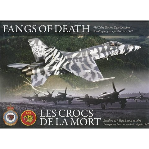 439 Squadron History: Fangs of Death Hardcover (bilingual)