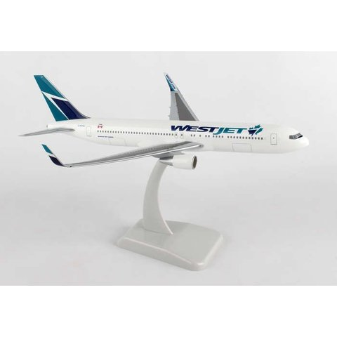 B767-300W WestJet C-FOGJ 1:200 with stand and gear
