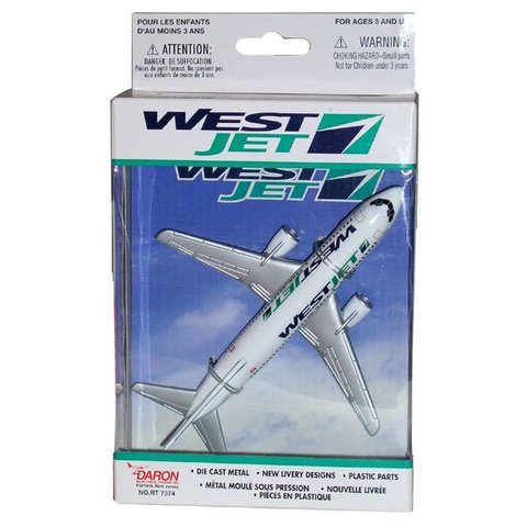 WestJet B737 Single Plane Old Livery