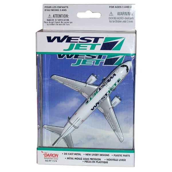 Daron WWT WestJet B737 Single Plane Old Livery