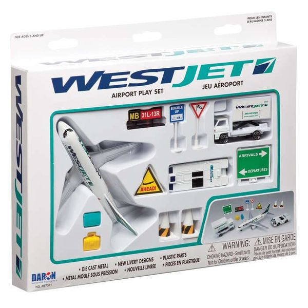 Daron WWT Westjet Airport Play Set Old Livery