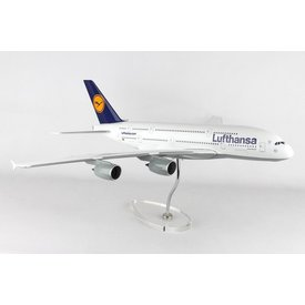Skymarks Supreme A380-800 Lufthansa 1:100 Skymarks Supreme with stand (no gear)