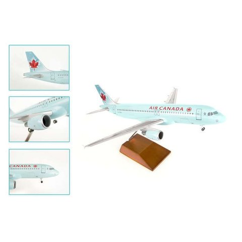 A320 Air Canada 2004 livery 1:100 Supreme With Wood Stand+Gear**o/p**