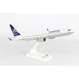 SkyMarks B737-9 MAX COPA 1:130 with stand (no gear)