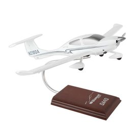 Diamond DA40 XLS N210DA 1:24 with stand