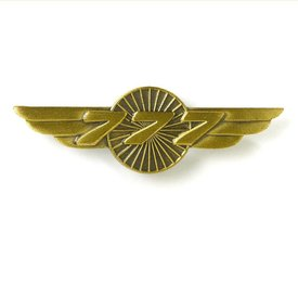 Boeing Store Pin 777 Wings Bronze 1 1/2""