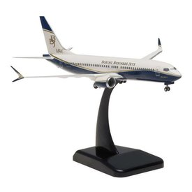 Hogan B737 MAX8 BBJ Boeing Business Jet 1:200 Gear+stand