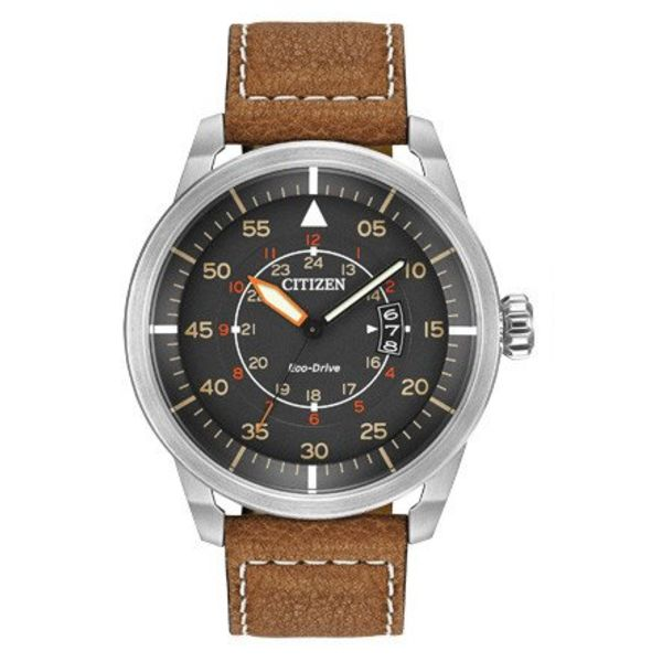 Citizen Avion Brown Strap