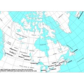 Nav Canada T 1/2 Terminal Area Chart - August 12th 2021