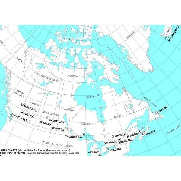 Nav Canada T 1/2 Terminal Area Chart April 25th 2019