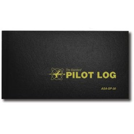 ASA - Aviation Supplies & Academics Logbook Standard Pilot Black