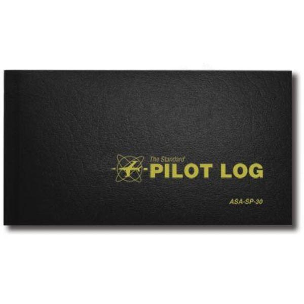 ASA - Aviation Supplies & Academics Logbook Standard Pilot Black