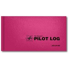 ASA - Aviation Supplies & Academics Logbook Standard Pink