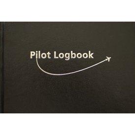 "Logbook Small Vip black hardcover 9 1/4"" x 6 1/4"""