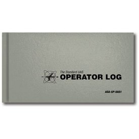 ASA - Aviation Supplies & Academics UAV Logbook