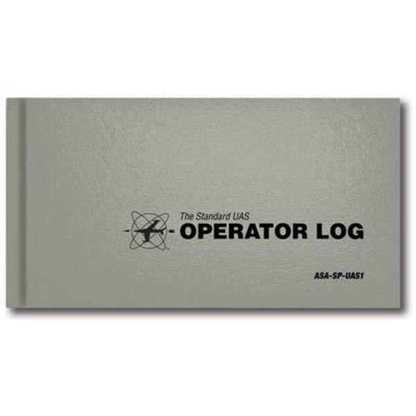 ASA - Aviation Supplies & Academics Standard UAV UAS Operator Log HC
