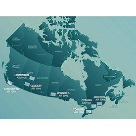 Nav Canada VTA Navigational Charts 1:250 000