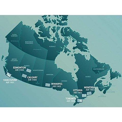 VTA Navigational Charts 1:250 000