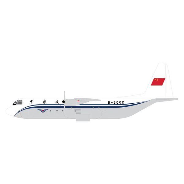 Gemini Jets L100-30 HERCULES CAAC China B3002 1:400