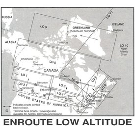 Nav Canada Low Altitude IFR Chart - October 5th 2021 until December 7th 2021