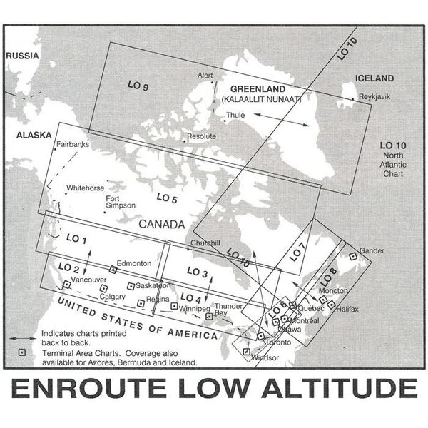 Nav Canada Low Altitude IFR Chart Feb 28 2019