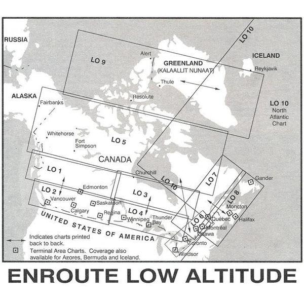 Nav Canada Low Altitude IFR Chart June 20 2019