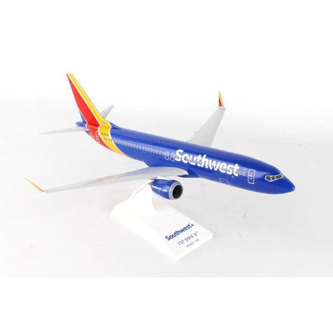 B737 MAX8 Southwest 1:130 with Wifi Dome