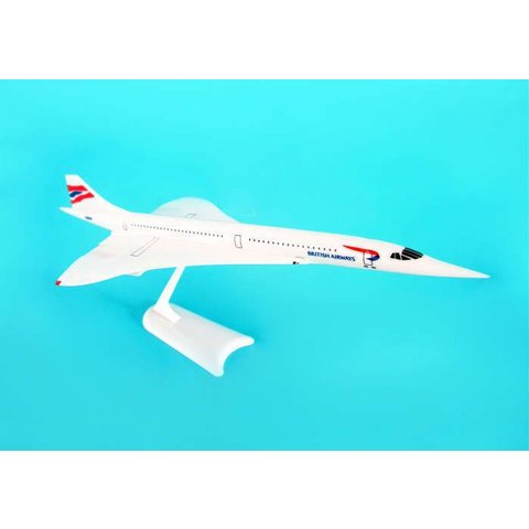 Concorde British Airways Union livery 1:250 with stand