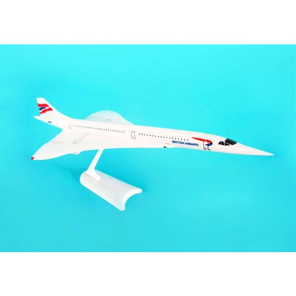 SkyMarks Concorde British Airways Union livery 1:250 with stand