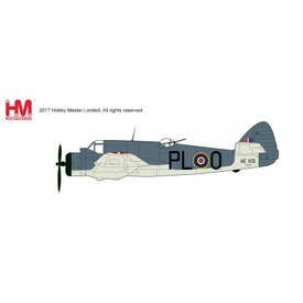Hobby Master Beaufighter TF.X 144 SQN RAF Banff PL-O 1:72 with stand