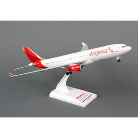 SkyMarks A330-200 Avianca New Livery 1:200 With gear + stand