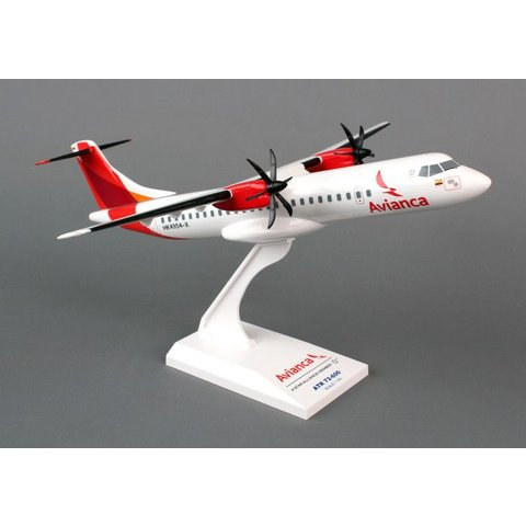 ATR72-600 Avianca New Livery 1:100 with stand